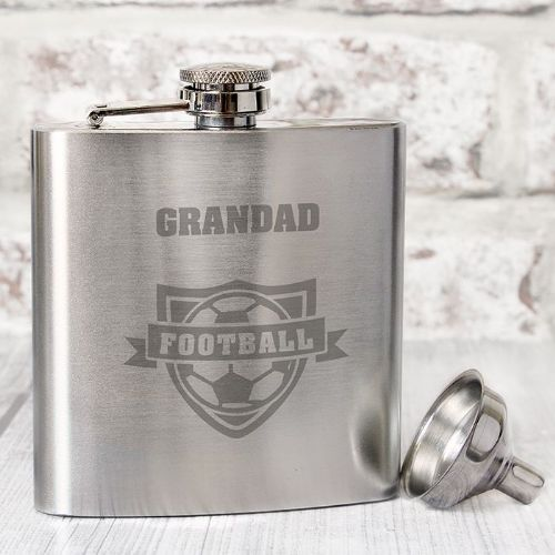 Football Hip Flask